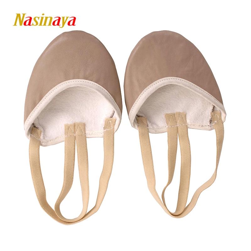 리듬 체조 RG 신발 Roupa Ginastica 어린이 성인 양 피부 신발 가죽 부드러운 얇은 깊은 하프 길이 댄스 댄스