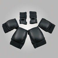LANOVA 6pcs Set Adults Skating Protective Gear Elbow Knee Pads Wristguard Cycling Skateboard Ice Skating Roller
