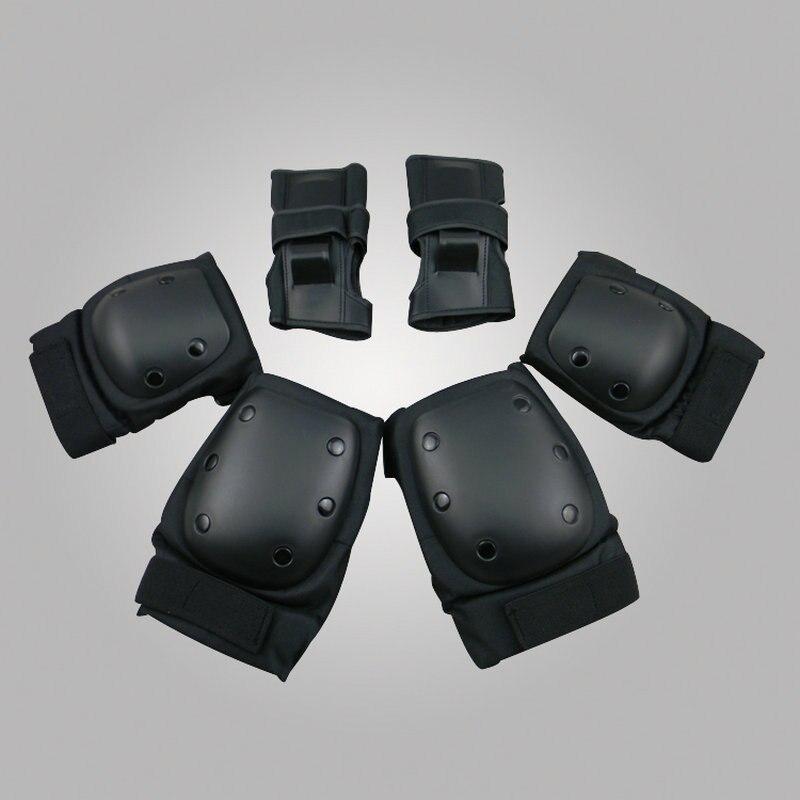 Prix pour LANOVA 6 pcs/ensemble Adultes De Patinage Équipement De Protection Coude genouillères wristguard Vélo Planche À Roulettes Patinage Sur Glace Rouleau Protecteur