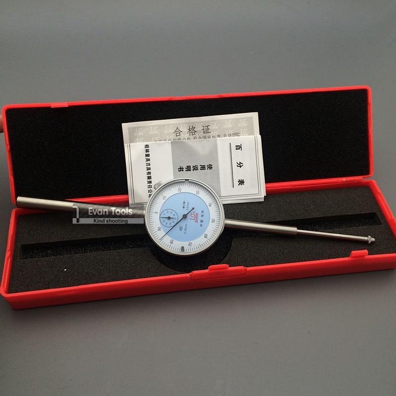 SHAN Dial Indicator 0 50mm Accuracy 0 01mm Reloj Comparador Dial Test Gauge Measure Tools
