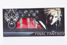 Anime Final Fantasy Sword Metal Weapons Toys With Box 8pcs/lot