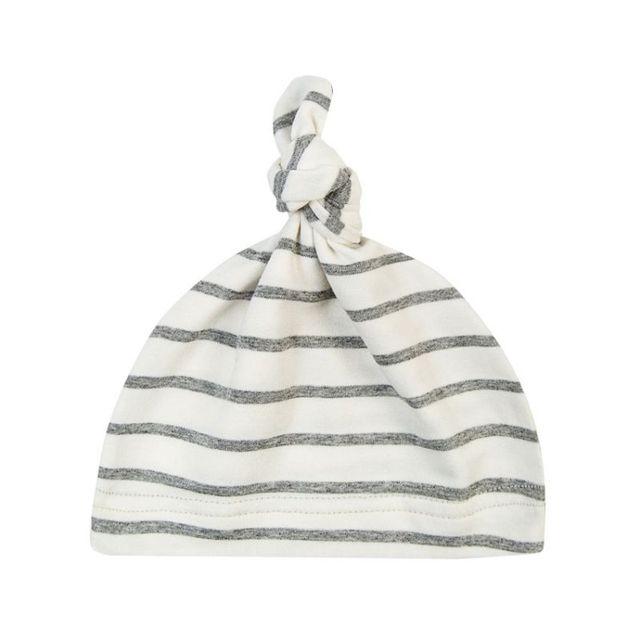 2019 Cotton Newborn Baby Knot Beanies Girls Sleep Caps