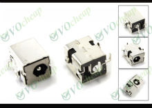 10 x Laptop DC power jack for HP Compaq NC6220 NC6230 NC8000 NW8000 NX5000 Presario V1000 without cable - PJ032-1.65mm