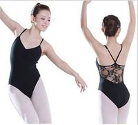 Adult Ballet Tights Cotton Lace Gymnastics Leotard For Girls Black and White Gymnastics Dancewear Tutu Dress Ballet
