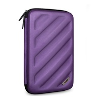 Waterproof Travel Portable Hard Drive Case Pouch Cable Organizer Bag Carry Case Free Shipping