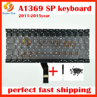 2011-2015year A1466/A1369 SP Spanish keyboard for macbook air 13