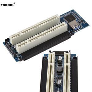 Image 4 - VODOOL PCI E אקספרס X1 כדי הכפול PCI Riser להאריך מתאם כרטיס עם 1M USB3.0 כבל עבור WIN2000/XP/Vista/Win7/Win8/לינוקס להוסיף כרטיס