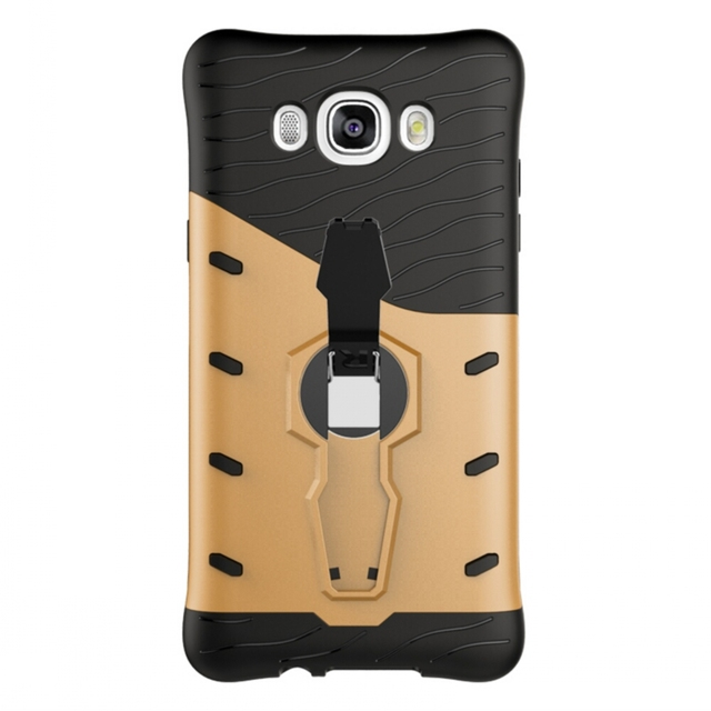 Cases for Samsung Galaxy J710&J7 2016 Cell Phone Armor PC + TPU Cover with 360-Degree Rotary Kickstand