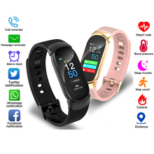Smart Band Men Women Pedometer Blood Pressure Heart Rate Activity Fitness Tracker Smart Bracelet Wristband IP67 Color Screen 2019 smart band women men 0 96 color screen heart rate blood pressure monitor wristband sport activity tracker fitness bracelet