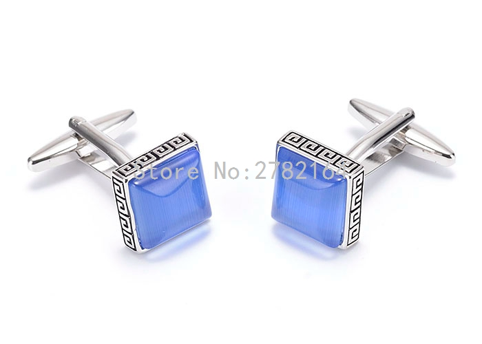 French men cufflinks shirts square sleeve nail manufacturers selling wholesale and retail free shipping