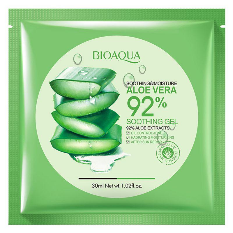 Aloe vera Collagen Mask Anti-aging Moisturizing Whitening Fas