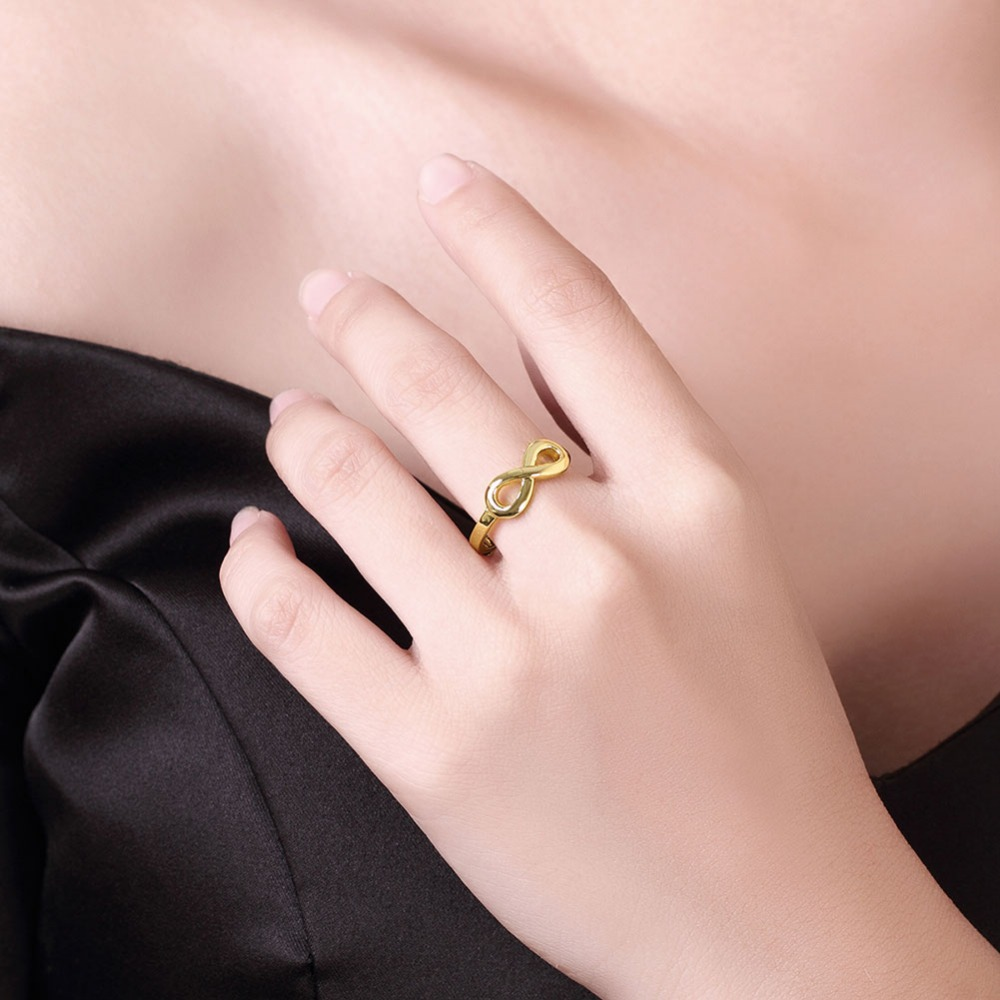 2017 Finger Rings Gold Engagement Wedding Rings for Women Cubic ...