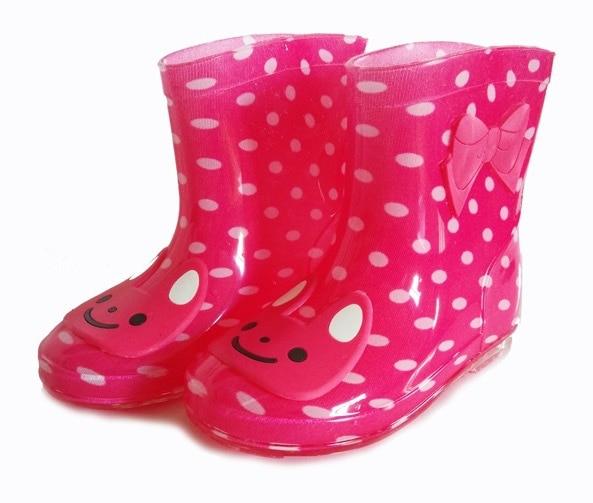 Bottes de pluie enfants fille de garçon de bande dessinée d\u0027hiver enfants  bottes de
