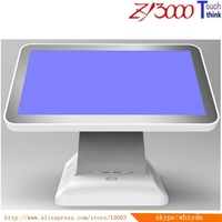 new stock (N3) 15.6 inch capacitance double sided touch Screen computer monitor windows pos systems all in one PC
