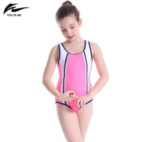 Y Summer Hot Sale Children Swimwear One-Piece Sport Swimsuit for Kids Pathchwork Cross Bathing Suit Two Colors Available