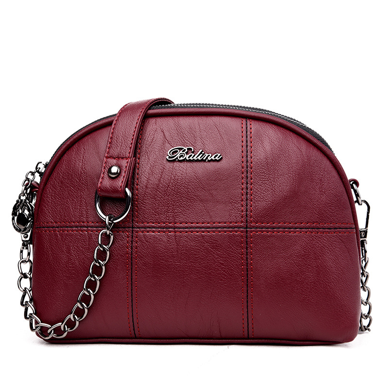 High Quality Leather Women Handbags Small Chain Bag Women Messenger Bag Fashion Female Shoulder Bags Women Bags Bolsas Femininas high quality shoulder bags designer 2017 handbag ladies small chain shoulder bags women bag bolsas fashion women s handbags page 5