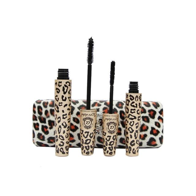 Makeup Leopard Print Mascara Set Waterproof Cosmetics Maquillage