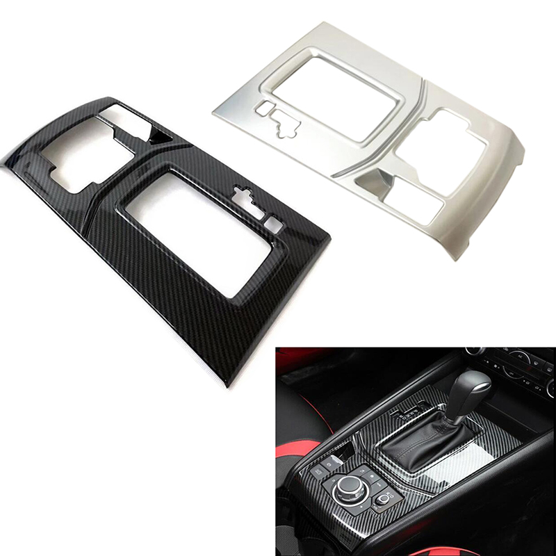 Inner ABS Gear Shift Box Panel Cover Trim 1pcs For Mazda CX-5 CX5 2nd Gen 2017 2018 for mazda cx 5 cx5 2017 2018 kf 2nd gen car co pilot copilot stroage glove box handle frame cover stickers car styling