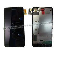 For Nokia lumia 630 635 636 638 LCD display+Glass touch screen digitizer+frame assembly full set touchscreen 100% Original Test