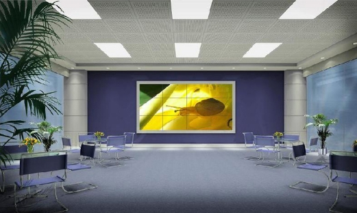 CCTV Monitor 4x3 video wall With Samsung led hd display 3x3 LCD