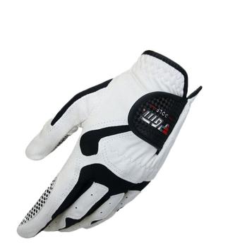 Marka Pgm męskie rękawice golfowe z lewej strony oddychające rękawiczki sportowe na ścieranie męskie pełne rękawiczki z palcami akcesoria do golfa D0012 tanie i dobre opinie Tkaniny D0010 Left Hand Right Hand Soft Comfortable Breathable Platoon Is Wet Odor-Proof Men S Golf Glove Micro Fiber Soft Left Hand Anti-Skidding Gloves