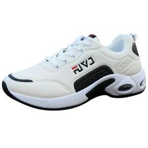 Image 3 - 秋男性スニーカー通気性作業靴、カジュアルスポーツの靴屋外ウォーキングシューズエアクッション男性の靴zapatosやつsapatos