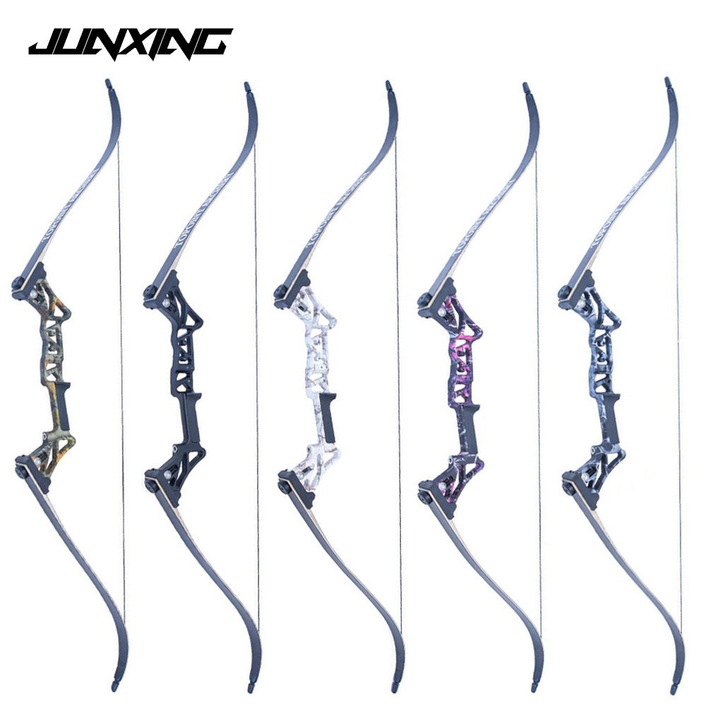 5 Colors 30-50 Lbs 58 Inches Vertex Recurve Bow Fishing Bow Aluminum Alloy Bow Handle for Outdoor Archery Hunting Shooting 54 inch recurve bow american hunting bow 30 50 lbs for archery outdoor sport hunting practice