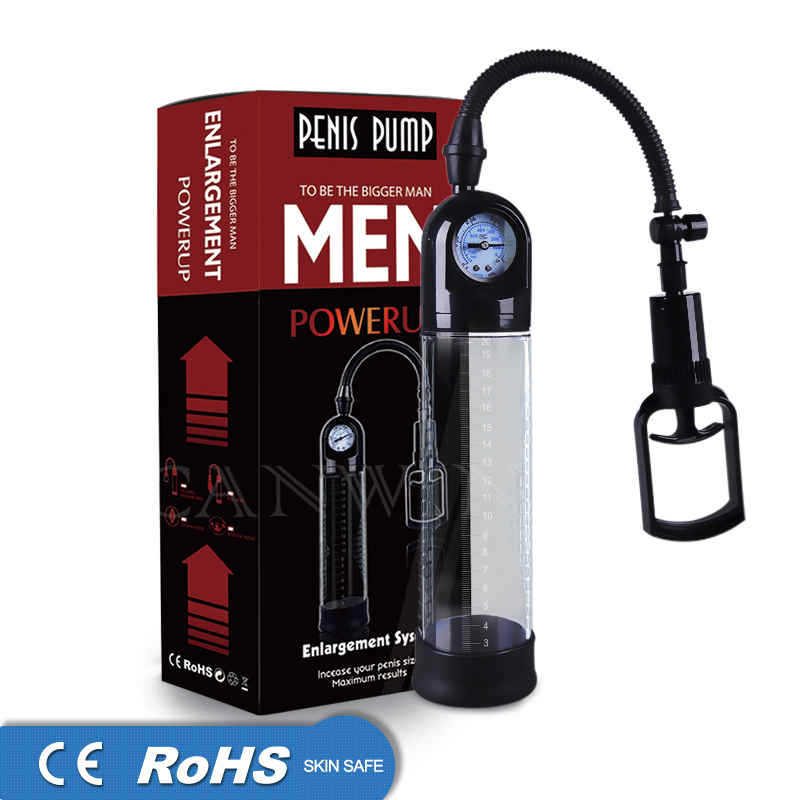 Sex Shop Penis Pump Enlargement Male masturbator with Gauge Vacuum pump penis Extender Enhancer Erection Enlarger penis For men. keddo полуботинки keddo для девочки