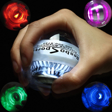 Platinum Dual LED Power Wrist strengthen Ball Gyroscopic Super Fitness Hand Spinner Gyro Exerciser  Force C