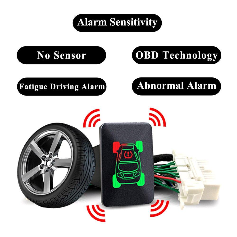 TPMS Tire Pressure Monitoring Systems Switch Button OBD For Mitsubishi Outlander 2014 2018 Xpander Eclipse Cross