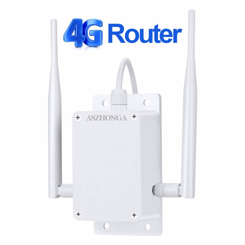 Image 2 - 4g 3g Modem Router Repeater 1200Mbps 2.4G Gigabit open WRT Wireless WiFi Routers With SIM Card Slot 2pcs 5dbi Antenna GSM/WCDMA-in Surveillance Cameras from Security & Protection