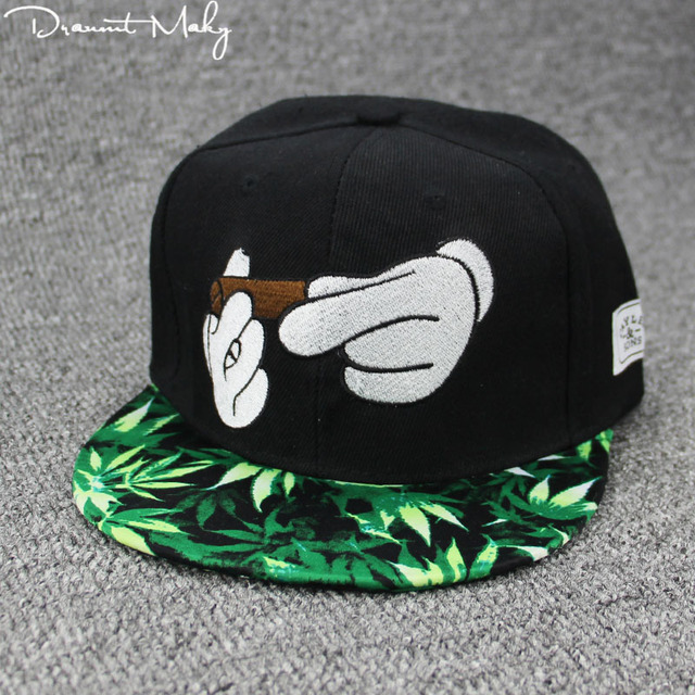 3d691ec0309 New Smoke Baseball Cap Dad Hat For Men Women Embroidery Hand Smoke Pattern  Trucker Cap Weed
