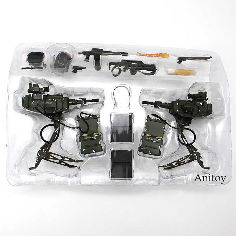 Инопланетянин NECA Uscm Arsenal набор аксессуаров ПВХ Фигурки Коллекционная модель игрушки 14-pack