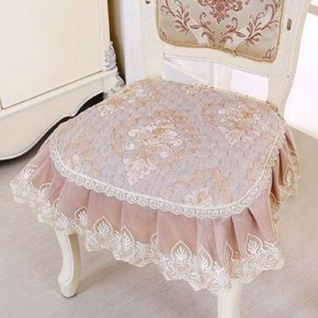 Pastoral cojines floral de lujo silla Cojines para sillas de comedor ...