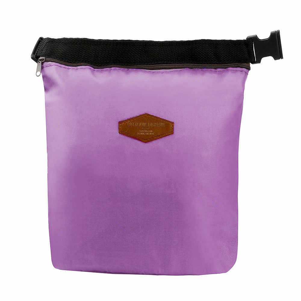 Tote Portable Insulated Lunch Box Pouch Cooler Waterproof Special Thermal Insulation Materia Storage Nylon Food Bag dropshipping