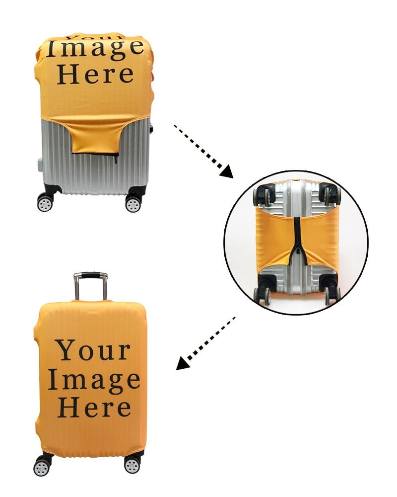 capas de proteção elástica bagagem viagem caso capa