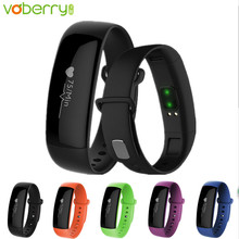 Voberry M88 Bluetooth Smart Band Bracelet Watches Blood Pressure Heart Rate Monitor Pedometer Sleep Monitor Fitness Tracker 32