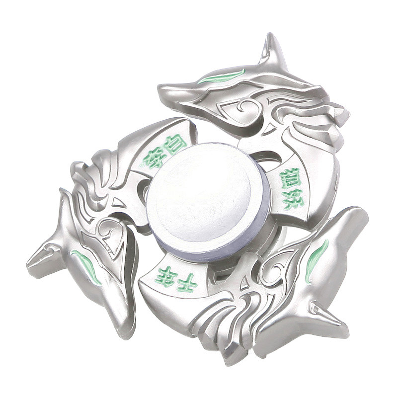 NEW Alloy Hand Spinner Tri Fidget Focus Toy EDC Finger Spin Gyro Metal Professional Fidget Spinner