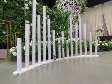 High and Low Round Pipeline Introducing Chinese Wedding Decorations Screen Arch Projects New Iron