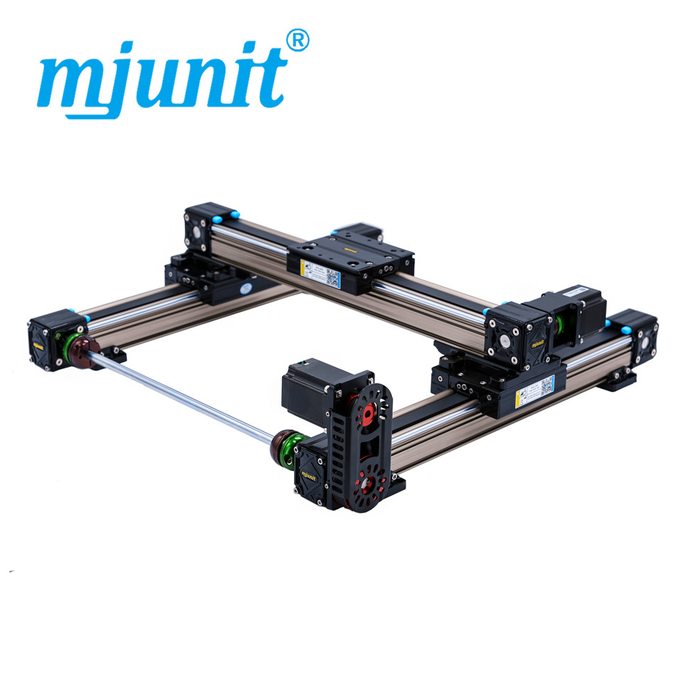 mjunit MJ50 xy best quality linear guide rails with 1300x900mm stroke flat