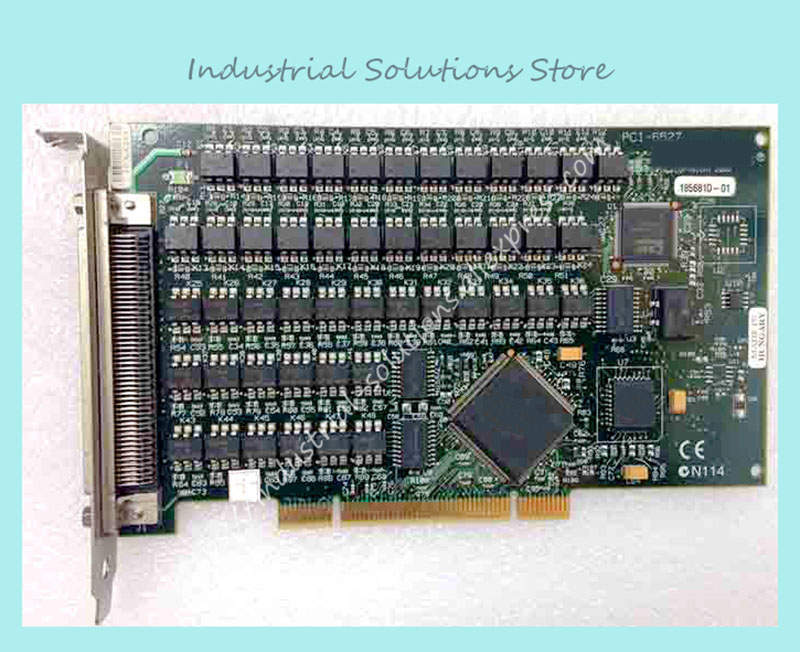 Industrial motherboard PCI-6527 DAQ data card 100% tested perfect quality industrial floor picmg1 0 13 slot pca 6113p4r 0c2e 610 computer case 100% tested perfect quality