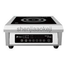 Без Каблука индукционная плита Ресторан суп плита высокой мощности Desktop 6000 Вт столовой электромагнитной индукции 220 В 1 шт.