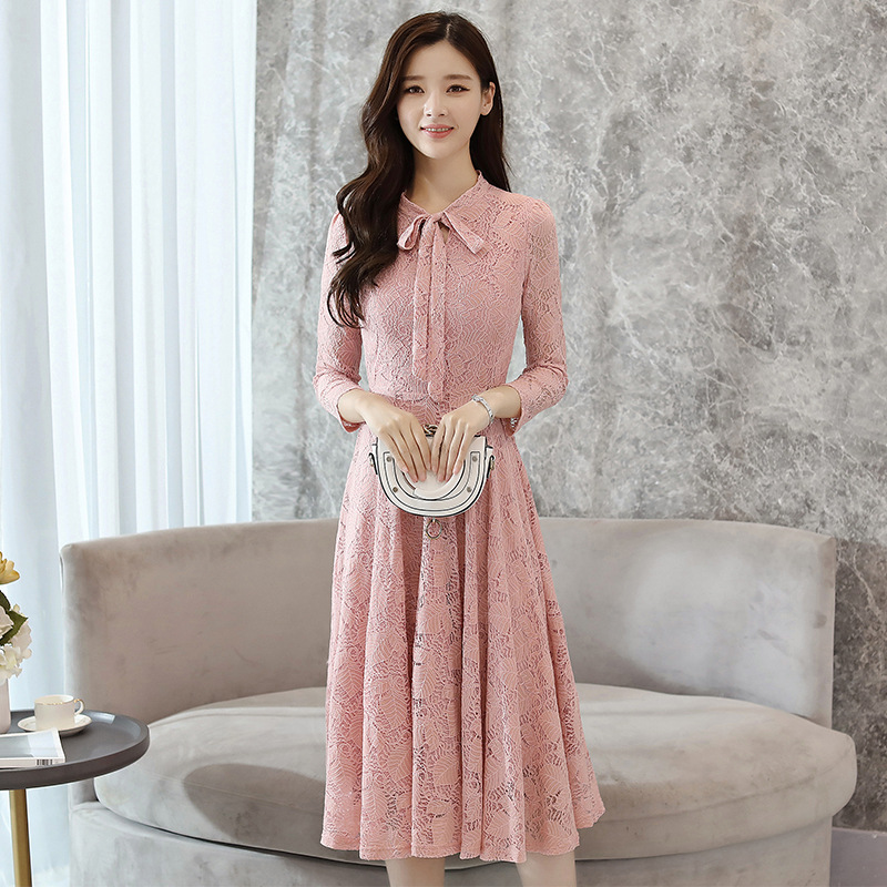 Pregnancy Dresses Lace Maternity Clothes Big Low Hem Maternity Clothings Long Patchwork Dresses ...