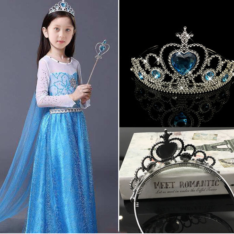 BalleenShiny Frozen Crown Twinkle Hair Accessories Girls Princess Bridal Crystal Diamond Tiara Hoop Headband Hair Bands GiftsBalleenShiny Frozen Crown Twinkle Hair Accessories Girls Princess Bridal Crystal Diamond Tiara Hoop Headband Hair Bands Gifts