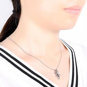 Image 5 - SANTUZZA Conjunto de joyería de plata de ley 925 con forma de lagarto, anillo y pendientes de color champán con zirconia cúbica, para mujeres