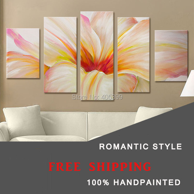 Painting For Bedroom aliexpress : buy flower picture canvas painting bedroom art