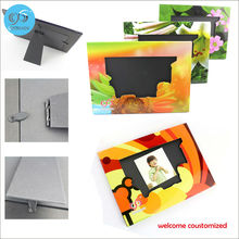 2 Pcs/lot free shipping stand paper photo frame album display picture frame baby photo frames for picture