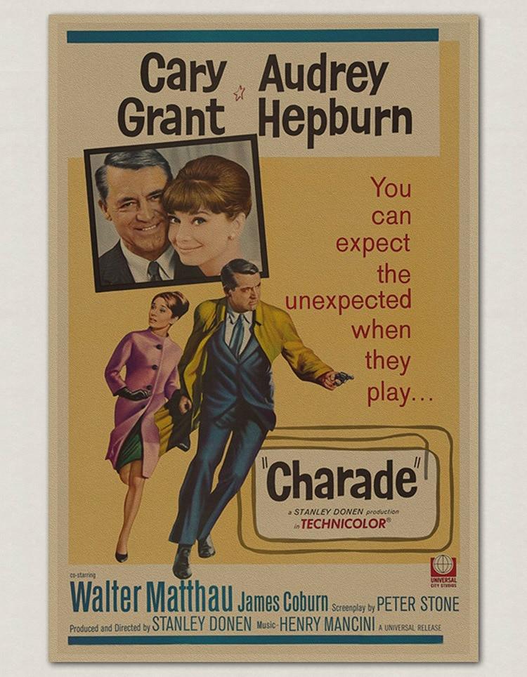 ξaudrey Hepburn Rocznika Plakaty Filmowe Nostalgiczne Retro Stare