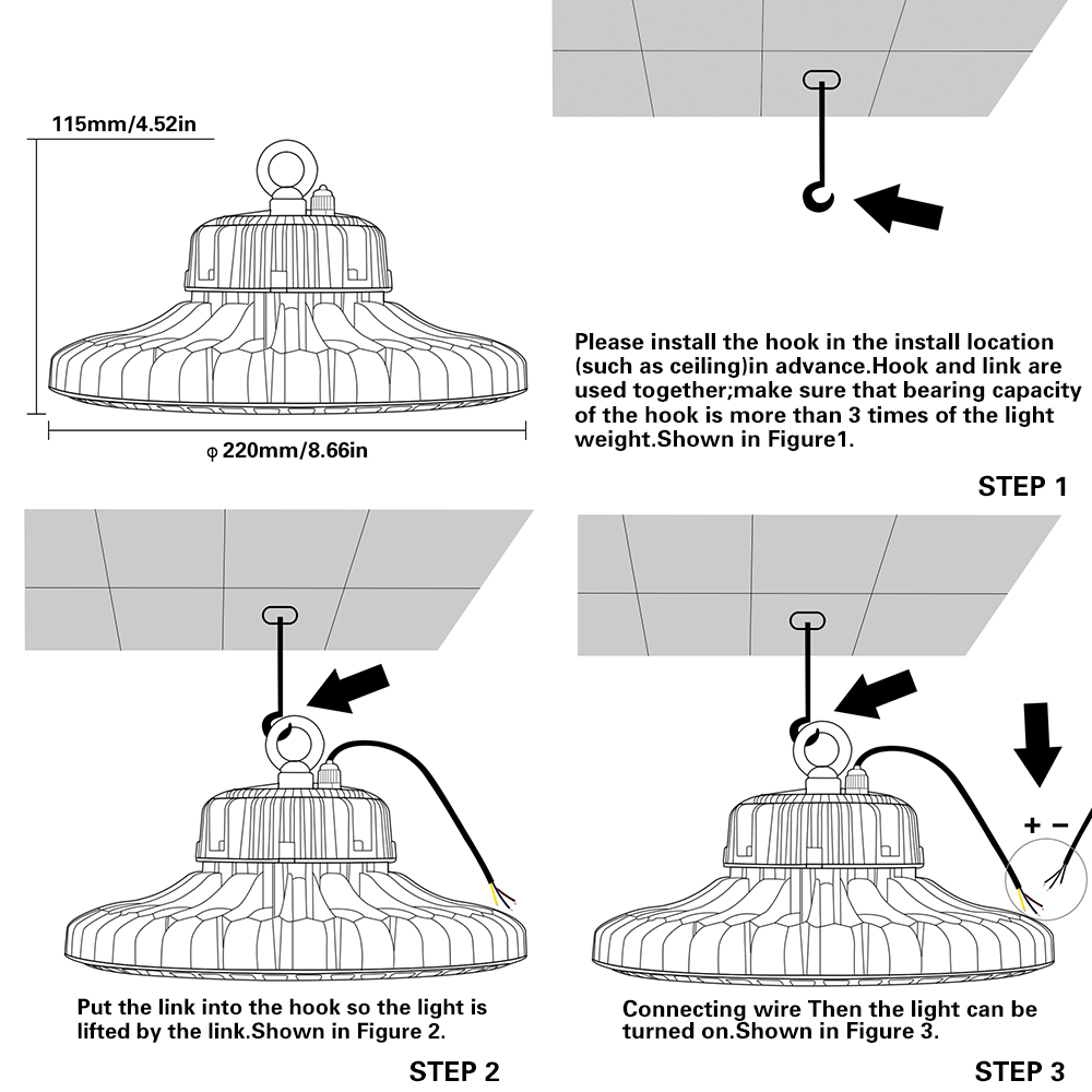 hight resolution of 4pcs ufo high bay led lights 70w 120w 150w 200w outdoor industrial metal halide ballast high bay light wiring diagram