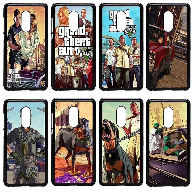 GTA San Andreas GTA Grand Theft Auto 5 V Phone Cases Hard PC